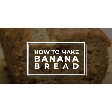 Banana Bread with Chia Seed and Pumpkin Seed Recipe